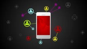 Video animering för ljus kommunikation med mobiltelefonen