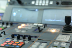 Video and audio production switcher Royalty Free Stock Photos