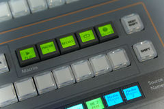 Video and audio production switcher Stock Images