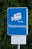 Video bevakning Arkivfoton
