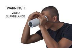 Video bevakning Arkivfoto