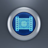 Video button concept Royalty Free Stock Photos