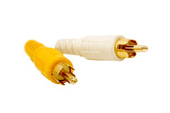 Video cables Royalty Free Stock Photography