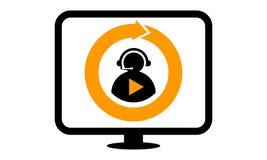 Video Call Chatting Stock Photo