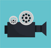 Video camara movie icon. Vector illustration design Royalty Free Stock Image
