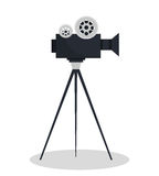 Video camara movie icon. Vector illustration design Stock Photo