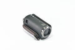 Video Camcorder on whiite background. Digital handycam video camcorder on white background Stock Image
