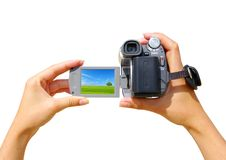 A video camera Royalty Free Stock Images