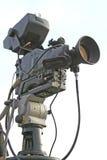Video camera. Close-up of tv videocamera Stock Image
