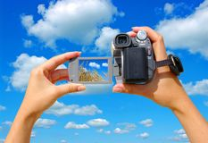 A video camera Stock Photography