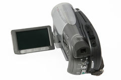 Video Camera. In white background Stock Image