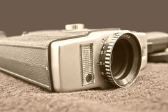 Video camera 8mm Stock Photography