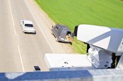 Video cameras for video surveillance Stock Photos