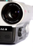 Video camera B Stock Image