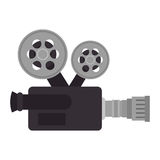 Video camera cinema icon Stock Images