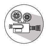 Video camera cinema icon. Illustration design Stock Photo