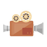 Video camera cinema icon. Vector illustration design Royalty Free Stock Photo