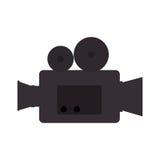 Video camera cinema icon. Vector illustration design Stock Photo