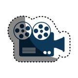 Video camera cinema icon. Vector illustration design Stock Photography