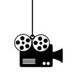 Video camera cinema icon. Vector illustration design Stock Image