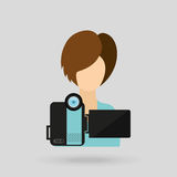 Video camera design Stock Photography