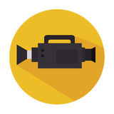 Video camera design Royalty Free Stock Images
