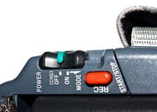 Video camera details Stock Images