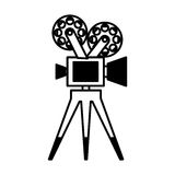 Video camera film icon Stock Images