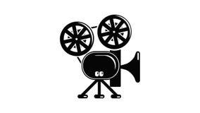 Video camera icon animation