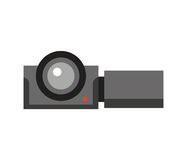 Video camera isolated icon. Illustration design Royalty Free Stock Photography