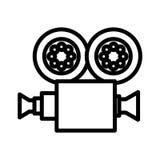 Video camera isolated icon. Illustration design Stock Photo