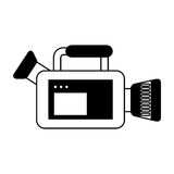 Video camera isolated icon Royalty Free Stock Image