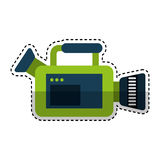 Video camera isolated icon Stock Photos