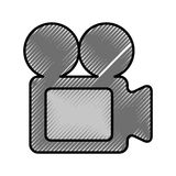 Video camera isolated icon Royalty Free Stock Photography