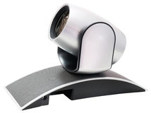 Video camera isolated Stock Photo
