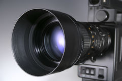 Video Camera Lens Royalty Free Stock Images