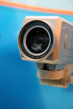 Video camera lens. Royalty Free Stock Photography