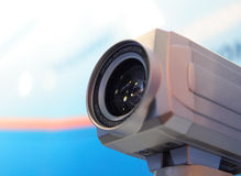 Video camera lens. Stock Images