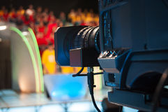 Television studio camera Stock Photography