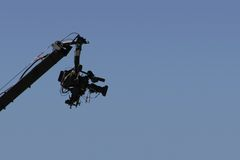 Free Video Camera On A Boom Stock Photos - 733143