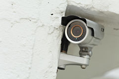 Video Camera Security System Royalty Free Stock Photo