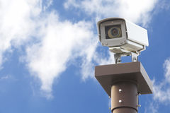 Video camera security system Stock Photography