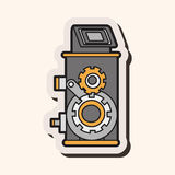Video camera theme elements vector,eps Stock Images