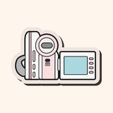 Video camera theme elements vector,eps Royalty Free Stock Photography