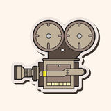 Video camera theme elements vector,eps Stock Photography