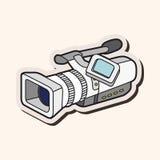 Video camera theme elements vector,eps Royalty Free Stock Photos