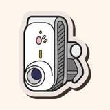 Video camera theme elements vector,eps Stock Photos