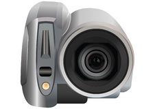 Video camera vector Royalty Free Stock Photo