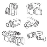 Video Cameras Stock Image