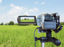 Video cameras Royalty Free Stock Photos
